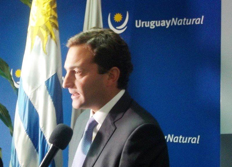 Diego Arrosa, CEO de Puerta del Sur, empresa concesionaria del Aeropuerto de Carrasco.