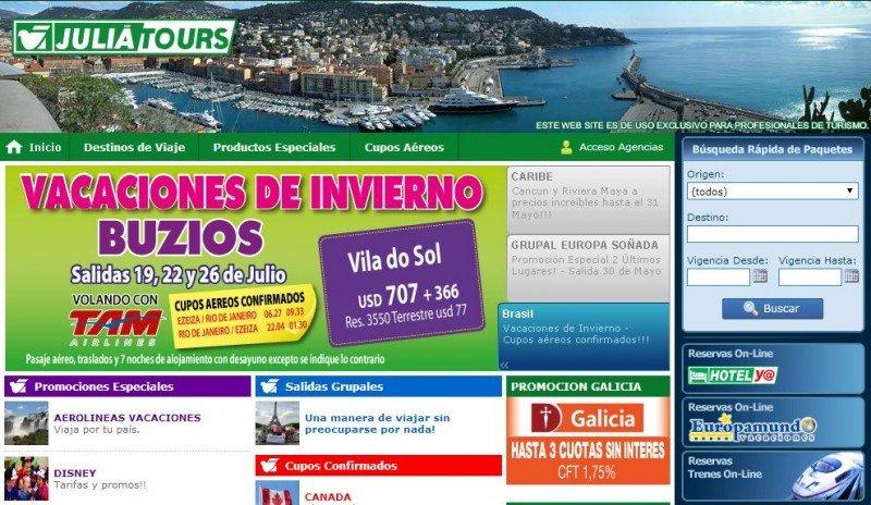 La facturación de Julià en Argentina aumenta 27%