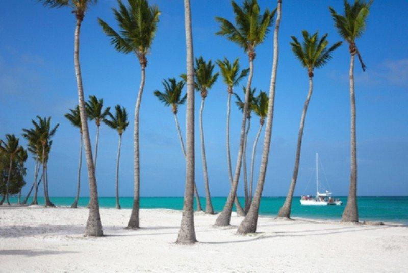 Dos de cada tres turistas internacionales llegan directamente a Punta Cana, en el este del país. #shu#