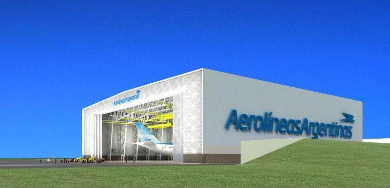 Aerolíneas Argentinas invierte US$ 49,8 millones en un hangar y talleres en Ezeiza