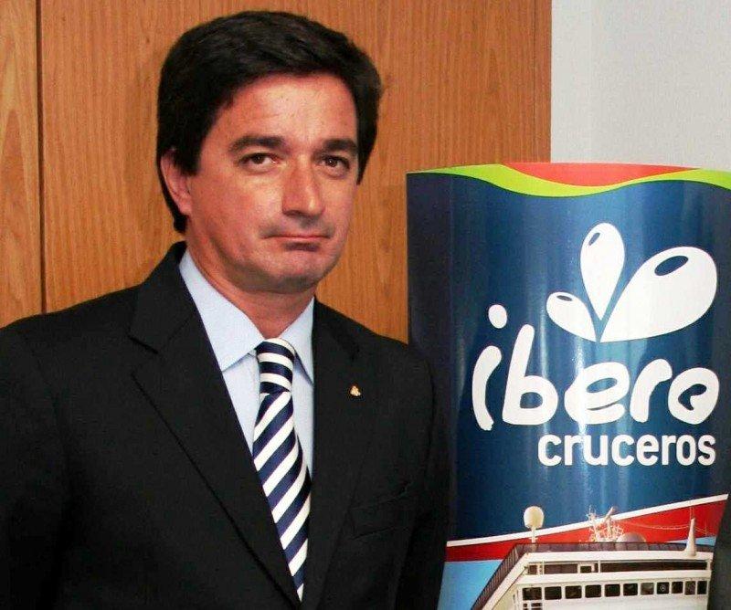 Carlos Núñez, director general de Costa Cruceros para Argentina, Chile, Uruguay, Paraguay, Bolivia y Perú.