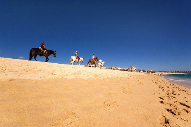 Cabalgata turística en Los Cabos, Baja California. #shu#