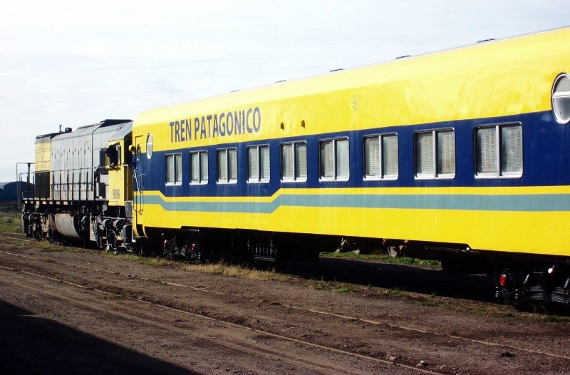Se reactiva el Tren Patagónico que une Viedma y Bariloche.