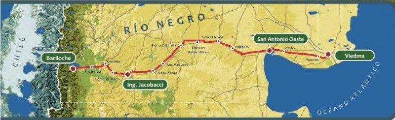 Se reactiva el Tren Patagónico que une Viedma y Bariloche