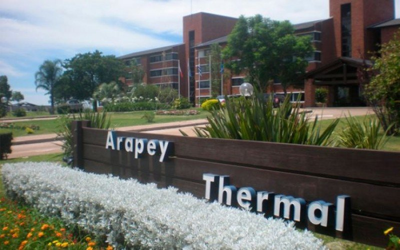 Arapey Termal Resort, sede del encuentro.