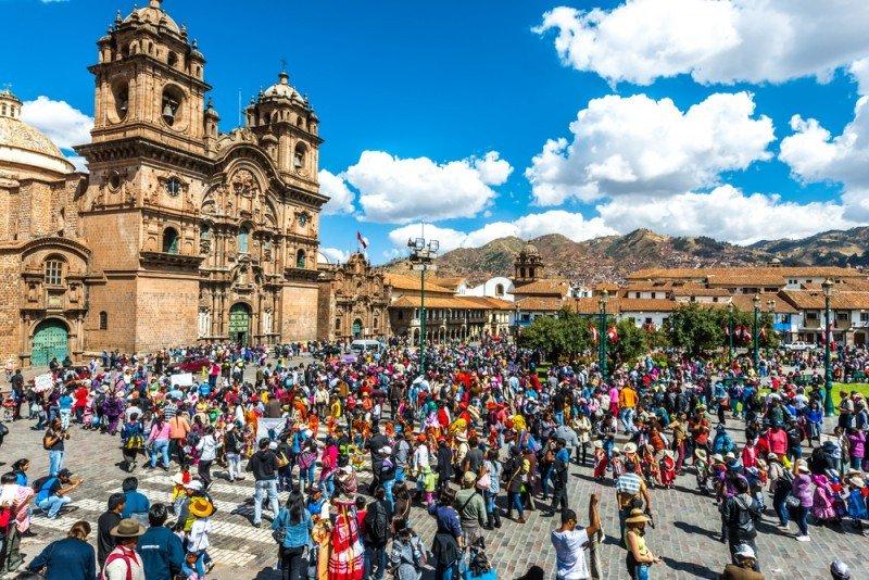 Crece 3,7% el turismo extranjero en Perú en el primer trimestre