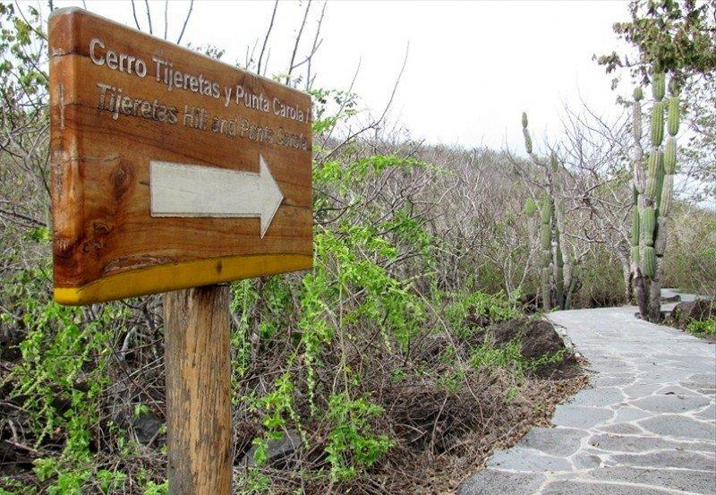 Han suspendido temporalmente el acceso a Punta Carola y Cerro Tijeras.