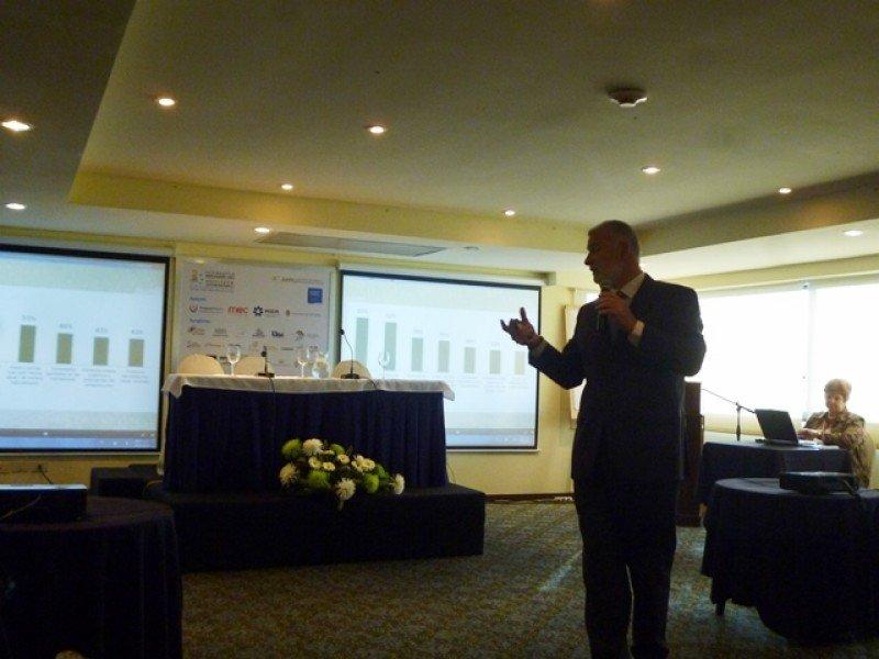 Sergio González, director ejecutivo de la AHT