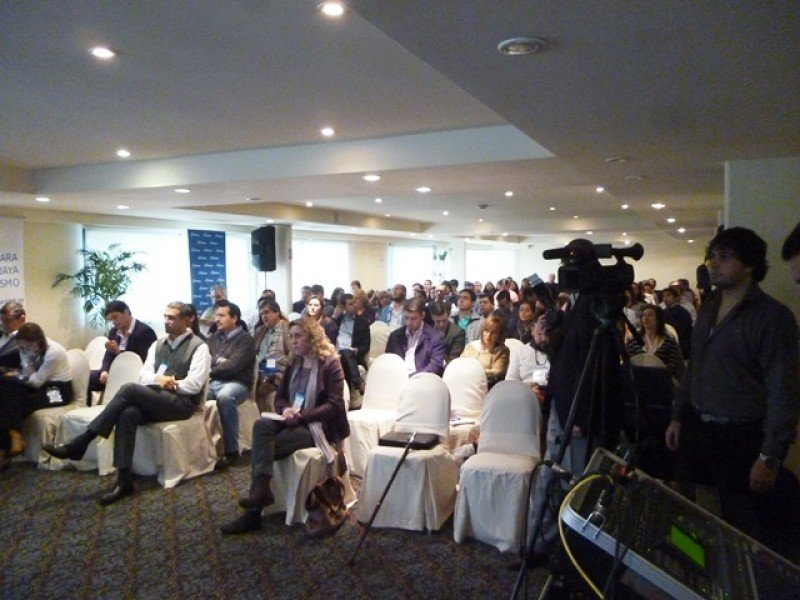 Asistentes al congreso en Arapey Thermal Resort.