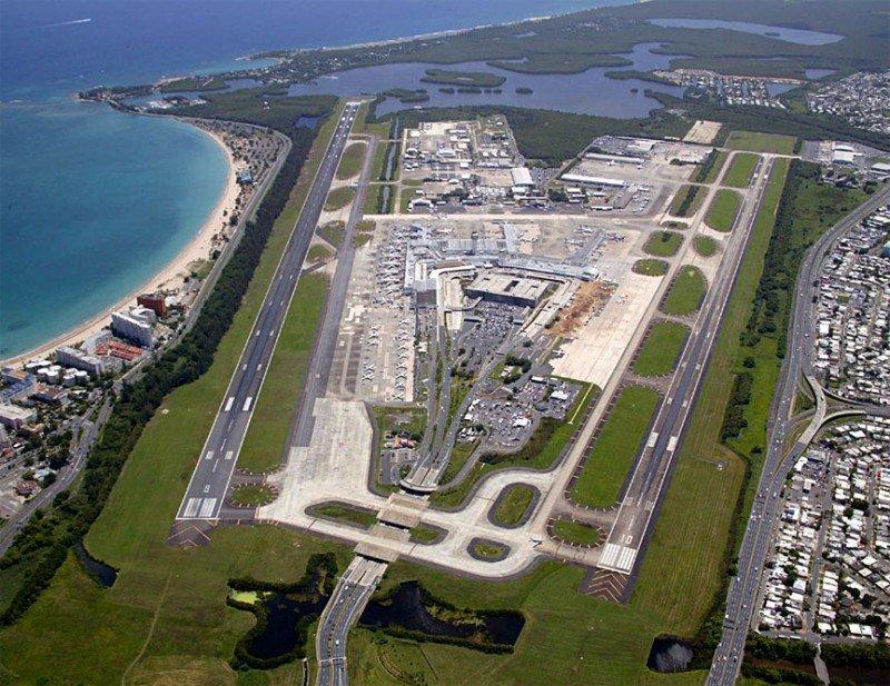 Aeropuerto de San Juan de Puerto Rico.
