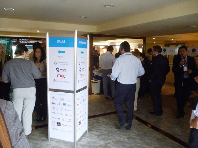 El congreso reunió a participantes de todo Uruguay, Argentina, y prestigiosos expositores internacionales.