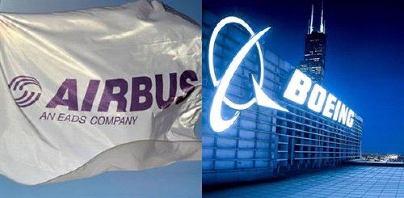 Boeing aventaja a Airbus con 224 pedidos más hasta abril
