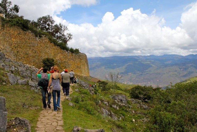 El teleférico será una alternativa a la caminata hasta la fortaleza precolombina.