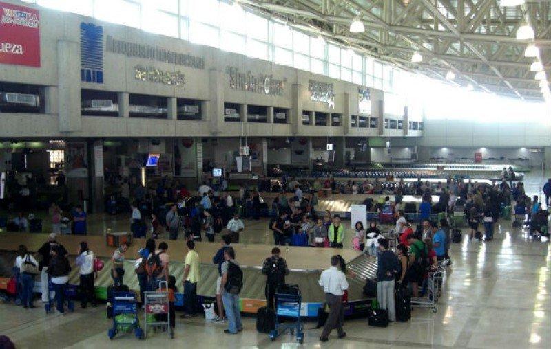 Aeropuerto Simón Bolívar de Maiquetía.