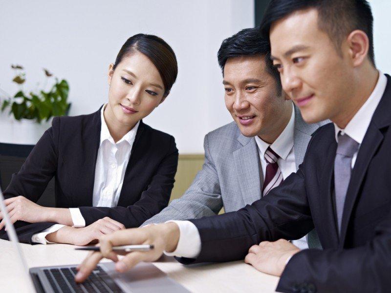 Los viajeros corporativos de China han aumentado un 17%. #shu#.
