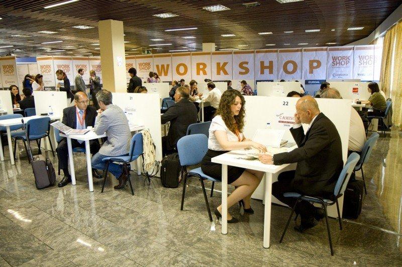 Foto de archivo de los workshops organizados en una edición anterior de Euroal.