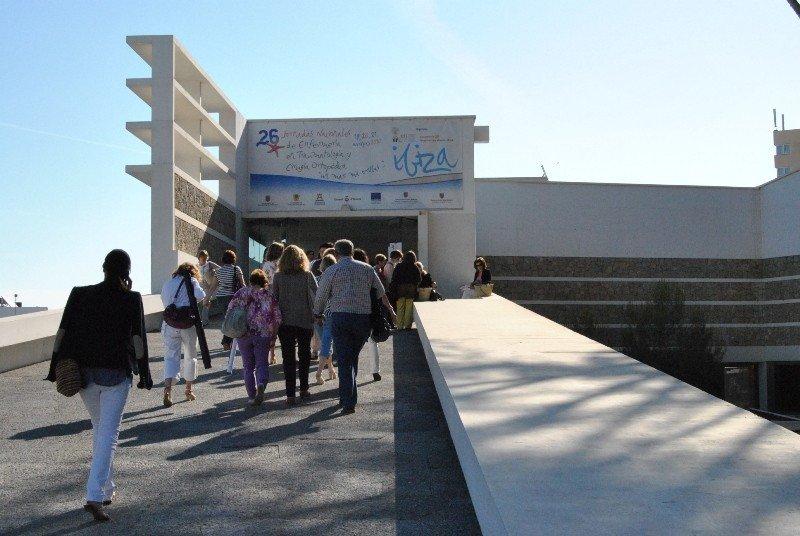Participantes en un congreso de enfermería celebrado en Ibiza.