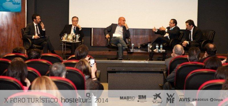 Uno de los debates del Foro Hosteltur organizado el pasado 20 de mayo en Madrid.