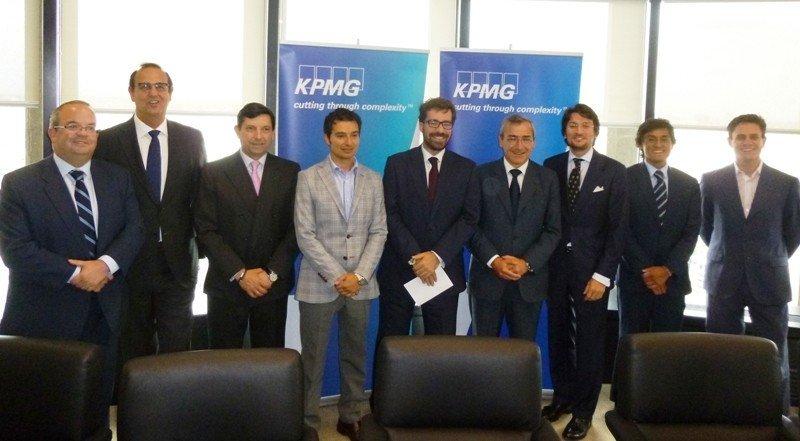 Los participantes en el encuentro organizado por KPMG el pasado 19 de mayo en Madrid.