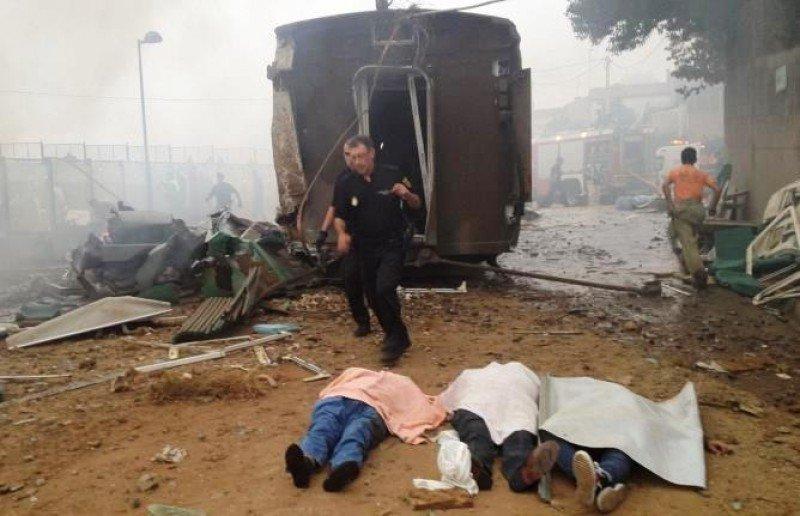 El accidente de tren en Santiago dejó 79 víctimas mortales.