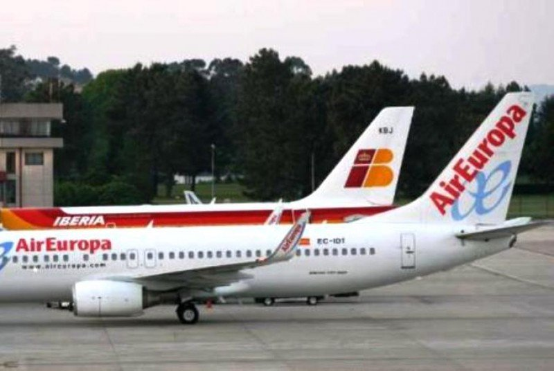 Iberia aventaja a Air Europa en la batalla por la promoción de Asturias