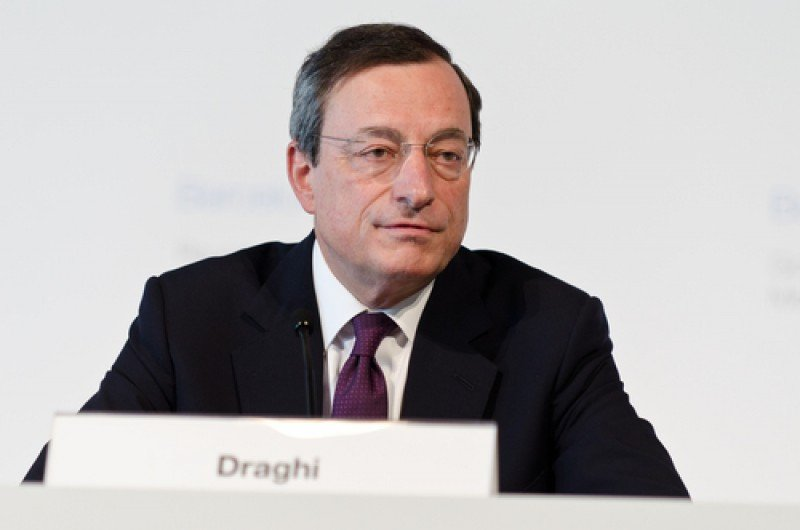 Mario Draghi, presidente del Banco Central Europeo. #shu#
