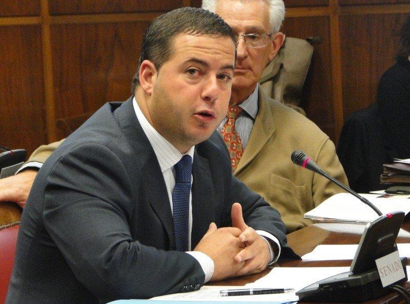 Agustín Almodóbar, portavoz de Turismo del PP en el Senado.