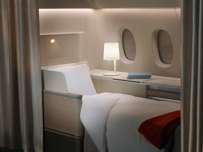 La suite privada de Air France.