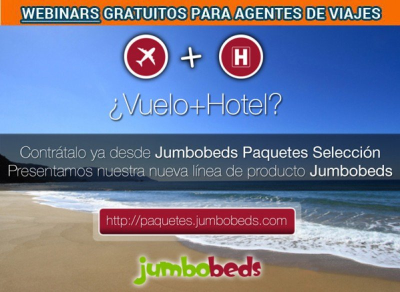 Webinar: Jumbobeds presenta su nueva línea de producto: paquetes online