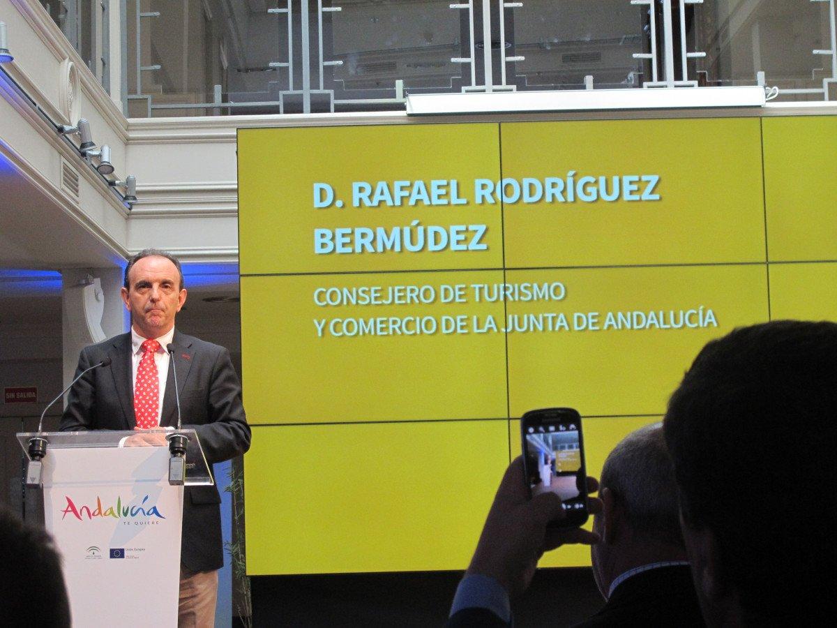 El consejero de Turismo y Cultura de Andalucía.