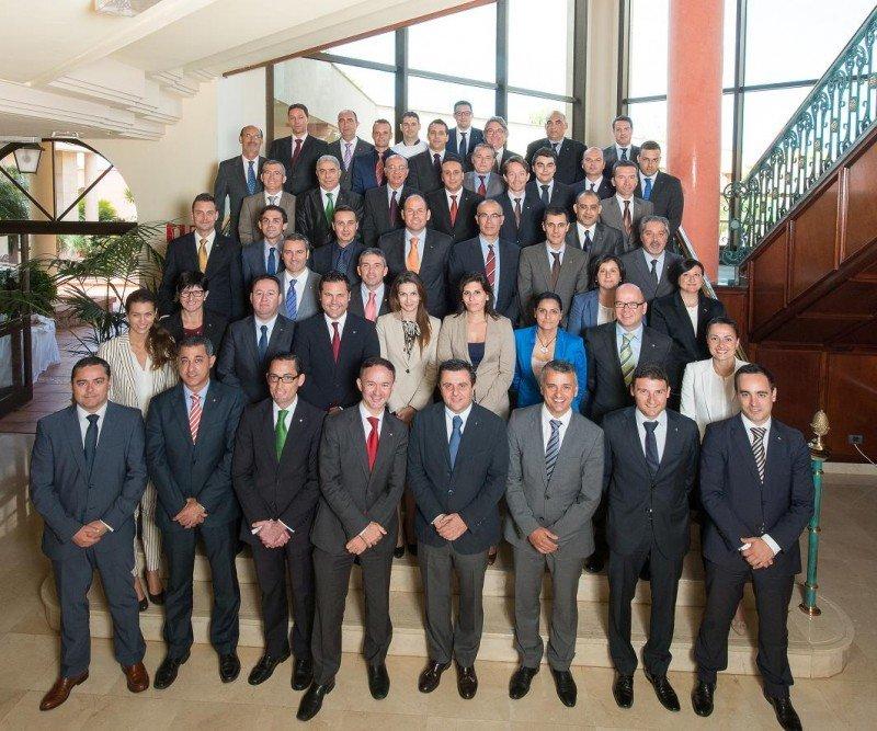 Imagen de los 50 directores de los hoteles Iberostar en EMEA que han participado en estas jornadas.