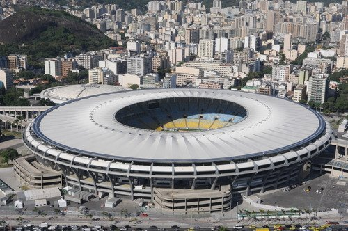 El estadio de Maracaná, en Río de Janeiro. #shu#