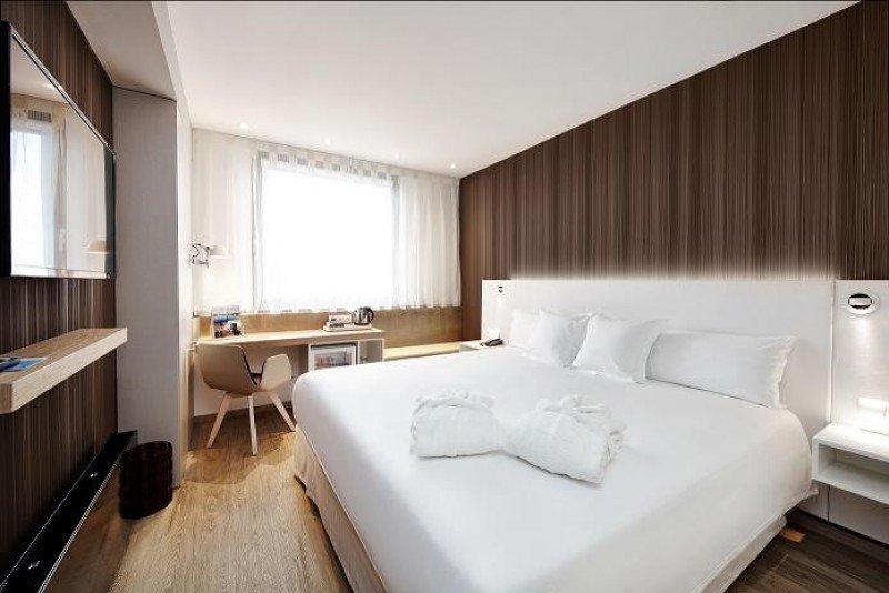 Con la reforma el Barceló Praha ha ampliado su capacidad de 213 a 228 habitaciones, todas con diseño vanguardista.