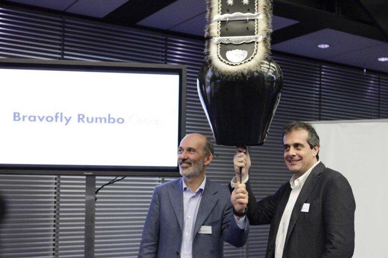 Fabio Cannavale y Francesco Signoretti, presidente y CEO de Bravofly Rumbo, respectivamente.