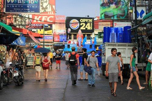 Los turistas de Bangkok podrán seguir realizando las visitas programadas a cualquier hora. #shu#