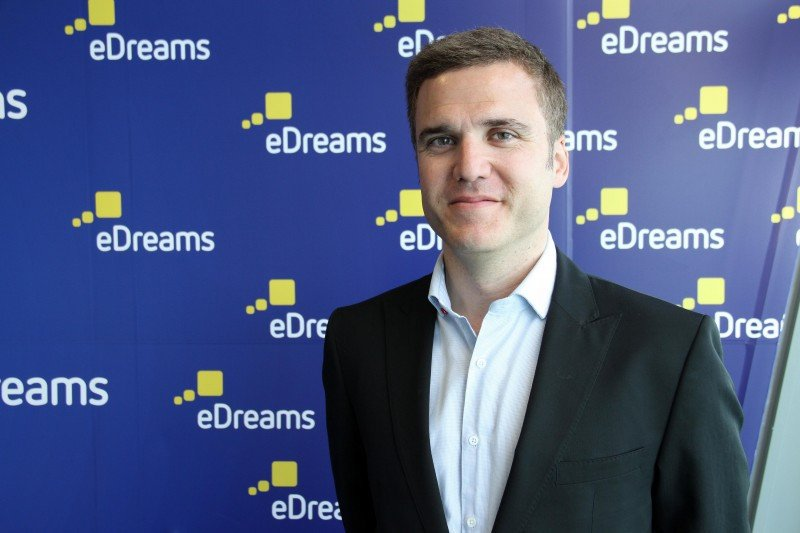 El director de Desarrollo de Negocio de eDreams Odigeo, Pablo de Porcioles.