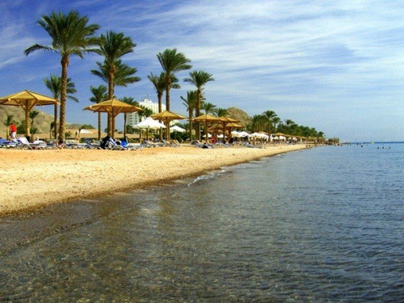 Playa en la localidad de Taba, Egipto. #shu#