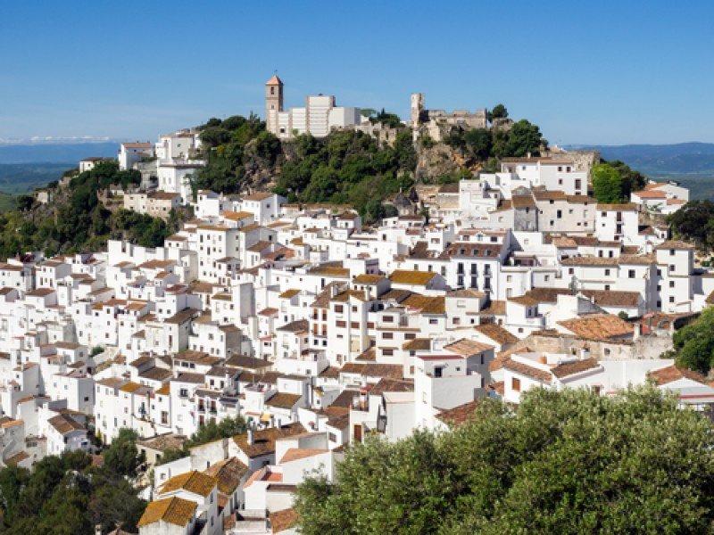 Vista de Casares, en la provincia de Málaga. #shu#