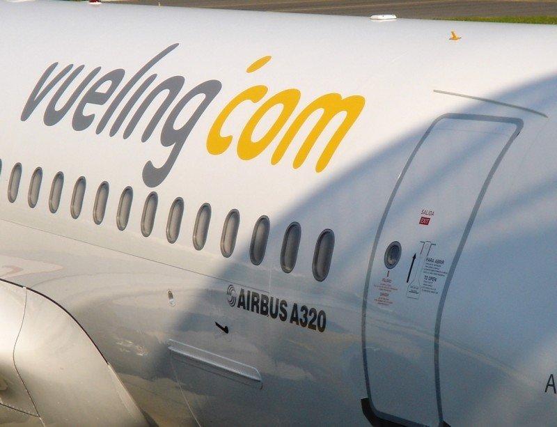 Vueling ha cancelado 34 vuelos entre España y Francia.