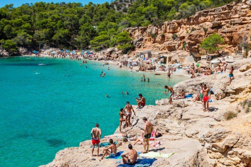 Caleta de San Vicente, Ibiza. #shu#