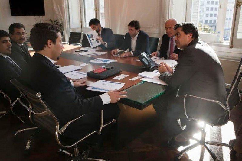 Funcionarios del gobierno de Argentina se reunieron con representantes del Grupo Accor.