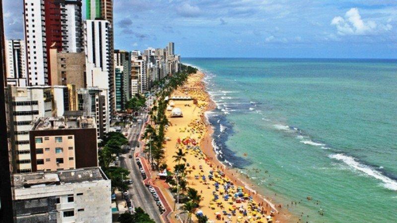La ciudad de Recife será la base para miles de turistas-hinchas mexicanos. #shu#