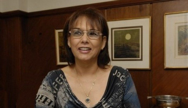 Mary Boñe, representante de Receptivo, ocupa la presidencia del COnglomerado de Turismo de Montevideo. Foto: Cipetur