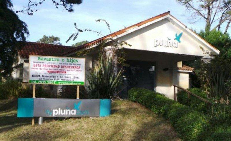 Sede de Pluna en Punta del Este rematada en las últimas horas por US$ 307.000. Foto: El País