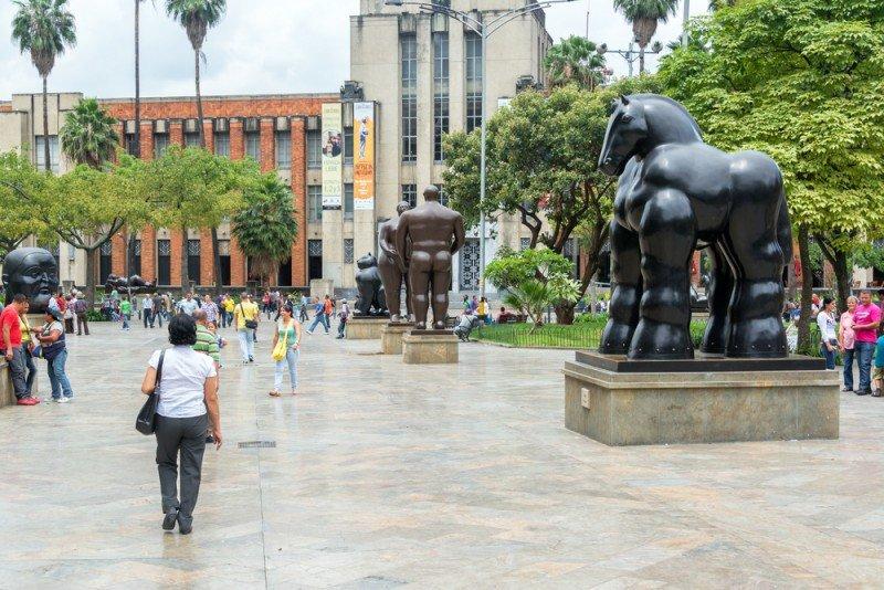 Plaza Botero, Medellín. #shu#
