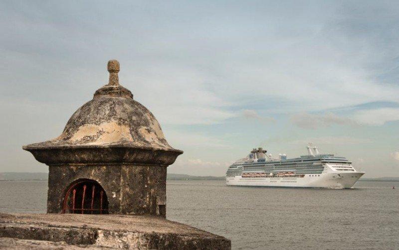 Crucero en Cartagena.