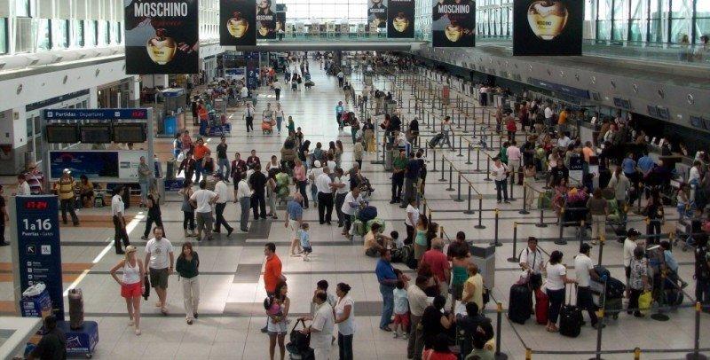 Aeropuerto de Ezeiza.