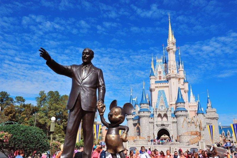 Walt Disney tuvo 132,5 millones de visitantes en 2013.