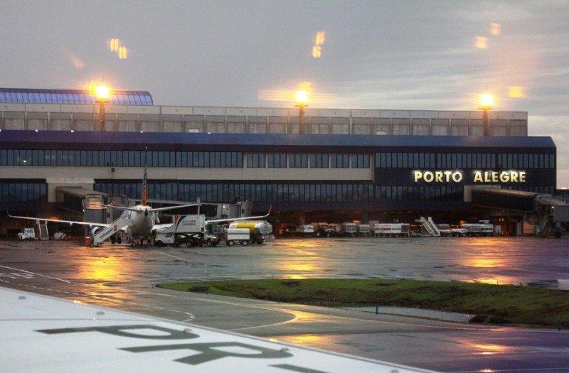 Aeropuerto Salgado Filho de Porto Alegre.