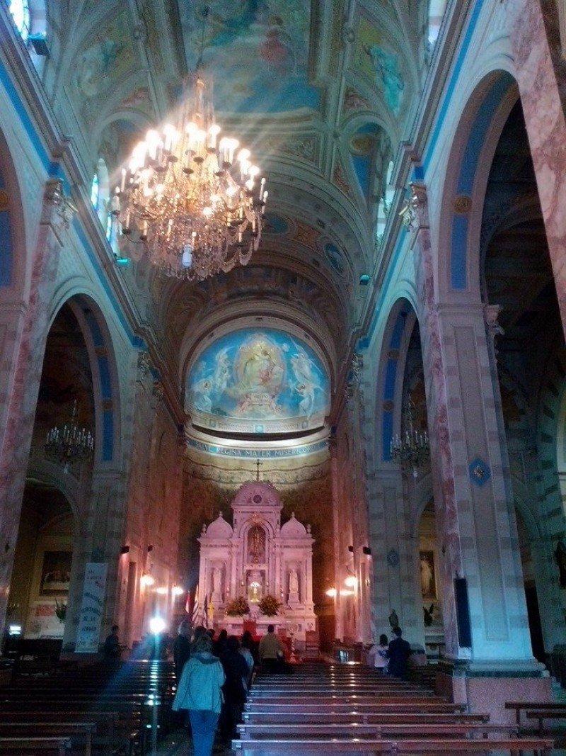 Visita al Santuario Nacional de la Virgen de los 33 Orientales.